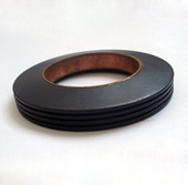 Disc spring for nuclear power